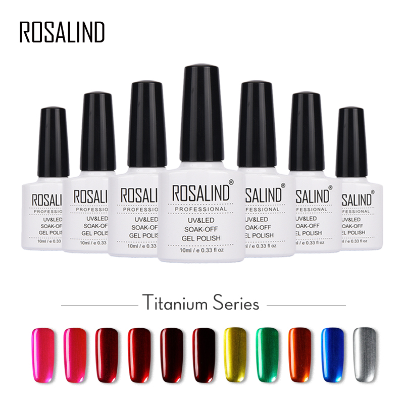 Aliexpress.com : Buy ROSALIND Titanium Gel Nail Polish