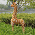 1pc 60-120cm cute simulation giraffe plush toy stuffed soft animal dolls high quality Home Accessories baby kids birthday