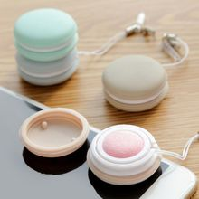 1PC Cute Phone Screen Cleaner Romantic Macaron Shape Cleaning Cloth Mobile Tools Cotton Dish