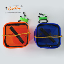Foldable EVA Water Bucket with Rope Belt Outdoor Fishing Tackle Box Camping Fold S Fishing Bag Case