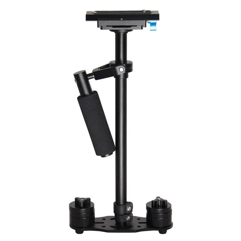 YELANGU S60L Steadicam Handheld Stabilizer Max Load 3.0kg Stabilizer Bar Length Telescopic Adjustment For Camcorder DSLR Camera