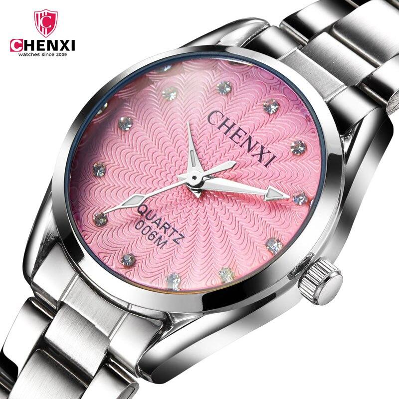 CHENXI Watches Women Dress reloj mujer Watches saat Clock Steel Strap metal watch bracelets orologio donna relogio feminino 4751 relogio feminino dourado reloj mujer