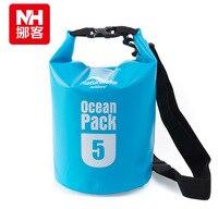 Naturehike New 5L 500D Ocean Pack Wading Waterproof Bag Drifting Package Swimming Bag Dry bag FS15M005-5L