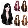 65 cm Suave Degre Sexy Hair Fashion Onda Larga de la Señora del Pelo Sintético Peluca Llena Del Cordón Peluca Cosplay Regalo HB88