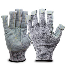 level 5 Anti-cut Safety Gloves Protect Stainless Steel Wire Gloves Cut Metal Mesh Butcher Anti-cutting Breathable Work Gloves