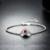 0.6ct Natural Garnet Pulseiras & Bangles Real 925 Sterling-prata-jóias Gemstone Fine Jewelry para As Mulheres Pulseras Mujer