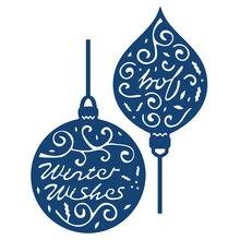 Buy Naifumodo Christmas Ornament Dies Scrapbooking Metal Cutting Dies New for 2019 Craft Dies Album Embossing Die Cuts Card Making directly from merchant!