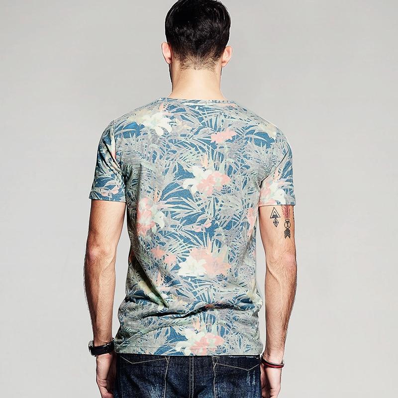Image 3 - KUEGOU 2020 Summer Cotton Print T Shirt Men Tshirt Brand T shirt  Short Sleeve Tee Shirt Male Fashion Clothes Top Plus Size 8284brand  t-shirtfashion t-shirtt-shirt brand