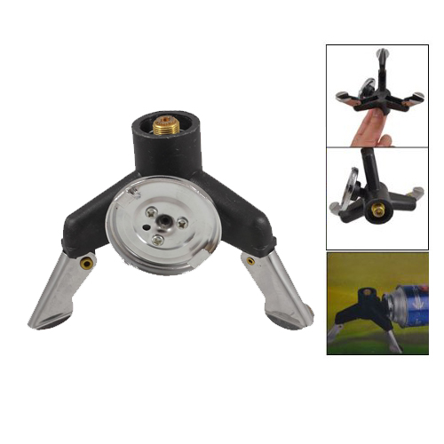 Campcookingsupplies 100% Quality Three-leg Transfer Head Adaptor Nozzle Gas Bottle Screw Gate Camping Stove Gear Relieving Heat And Thirst.