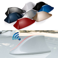 FOR ford focus 2 3 volkswagen polo vw mazda 6 Sedan car styling shark fin roof antenna auto antena with blank radio 3M stickers