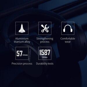 Image 5 - 業bluedio V2ワイヤレスヘッドフォンbluetoothヘッドセットPPS12ドライバハイファイヘッドホンとマイクハイエンド電話
