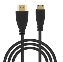 High speed Gold Plated HDMI TO MINI HDMI Plug Male-Male HDMI Cable 1M/2M/3M/5M 1.4 Version 1080p 3D for TABLETS DVD