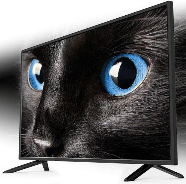 Meilleur écran d'affichage 1920*1080p 32 pouces android smart télévision LED T2 version mondiale TV