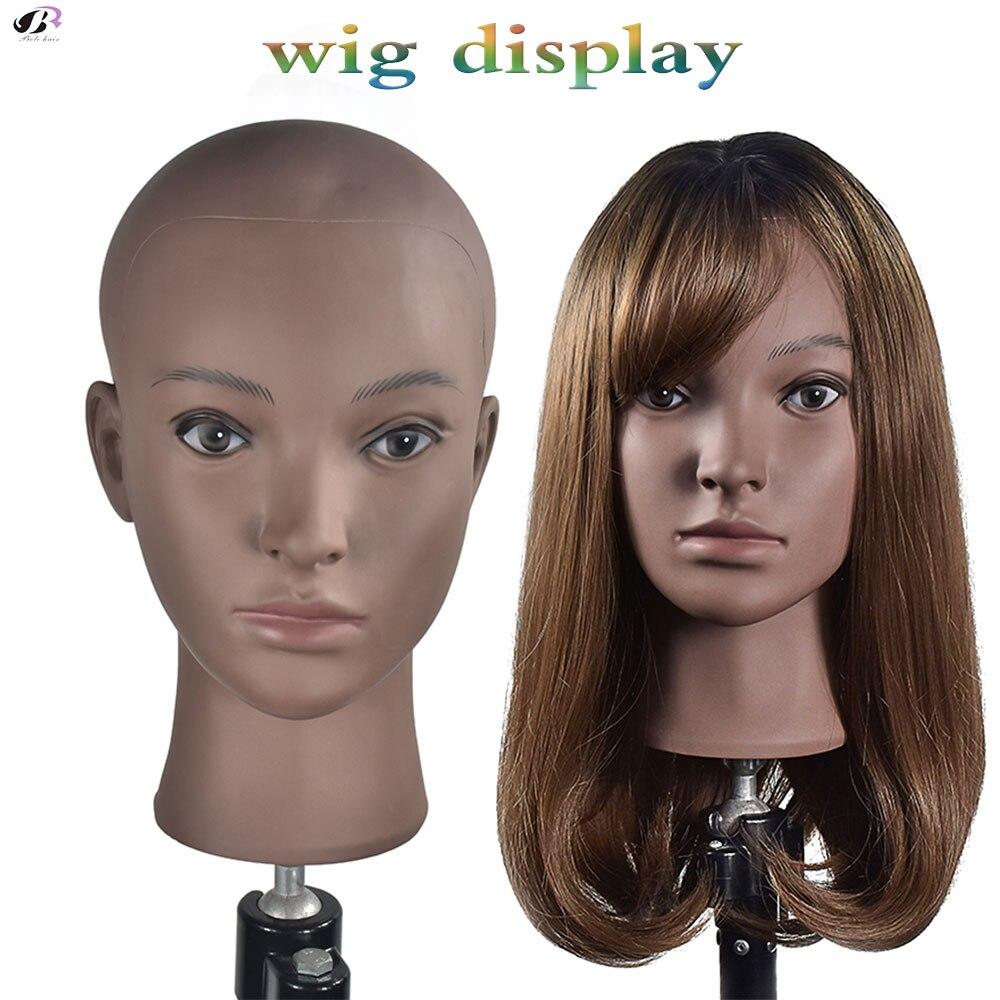 feminino peruca cabeça perucas fazendo e exibição