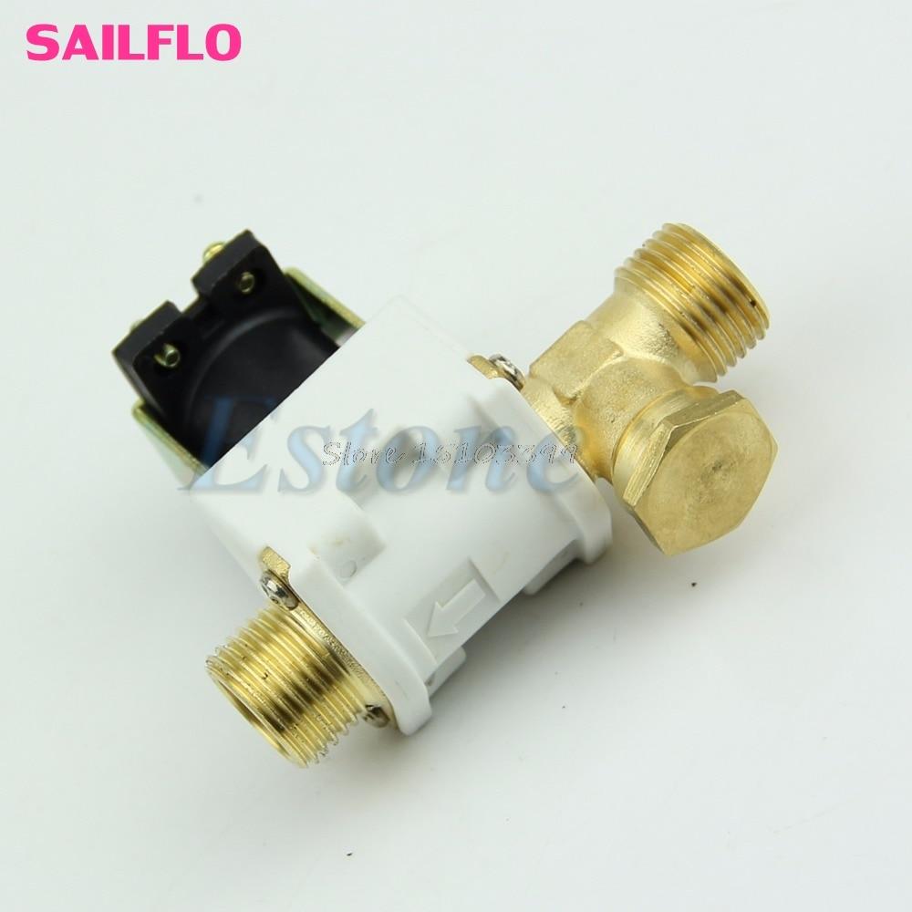Sanitär Ventil Angemessen 1/2 elektrische Magnetventil Für Wasser Luft N/c Normal Geschlossen Dc 12 V Neue G08 Drop Schiff Sparen Sie 50-70%