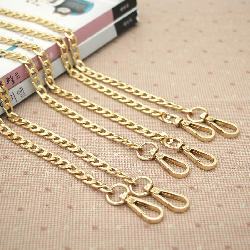 120 cm Length Metal Chains Accessories For Bag Strap Purse Handward DIY  Metal Accessories For Handbags Metal Chain Bag Straps -in Bag Parts    Accessories ... 3c41b882387c0