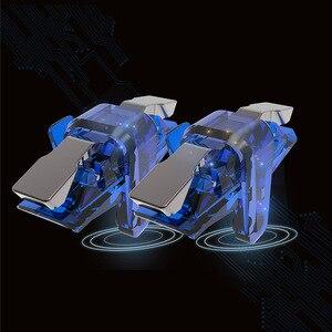 Image 2 - חדש X7 Pubg בקר Pubg נייד Gamepad עבור טלפון L1R1 אחיזה עם ג ויסטיק/הדק L1r1 המטרה מפתח כפתורים עבור אנדרואיד IOS