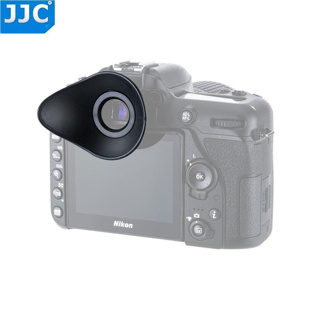 JJC ver Finder para Nikon D3400 D5500 D3300 D3200 D750 D610 D5200 D7100 D7200 D5300 Eyecup ocular como DK-20 21 23 24 DK-25