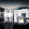 Súper Visión H4-1 35 W Escogen la Haba envío libre 8000 K DC 12 V HID kit de Xenón