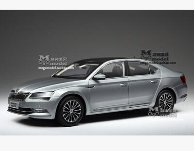 New SKODA SUPERB 2015 1 18 car model alloy metal diecast Shanghai Volkswagen original limit collection