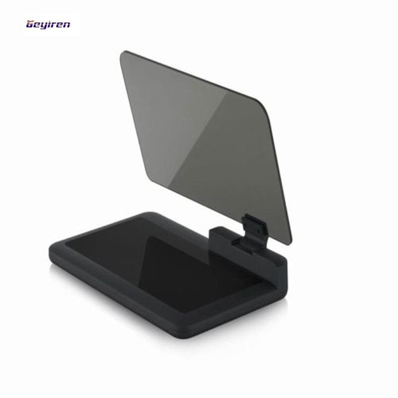 Free shipping high quality 2017 new Universal <font><b>H6</b></font> <font><b>Car</b></font> <font><b>HUD</b></font> Head Up Display Holder Mount Stands for <font><b>Smartphone</b></font> <font><b>GPS</b></font> <font><b>HUD</b></font>