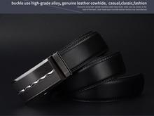 luxury Men's Business Alloy Buckle Belt