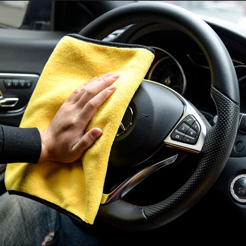 Exterior Accessories Cleaning Cloth Washing Dry Car Towel For Skoda Superb Chevrolet Captiva Bmw E30 Touran Kia Sportage 2017for Honda Civic