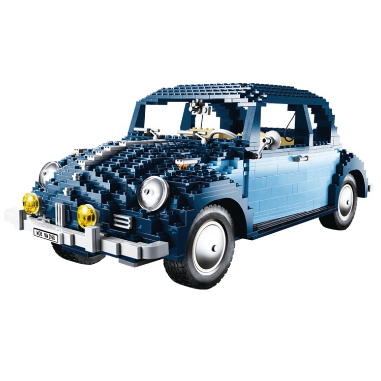 Lepin Blocks 1707Pcs Technic Classic Series The Ultimate Beetle Set Children Educational Toys Famous Car Model 10187 Kids Gifts lepin 21014 the ultimate beetle building bricks blocks toys for children boys game model car gift compatible with bela 10187