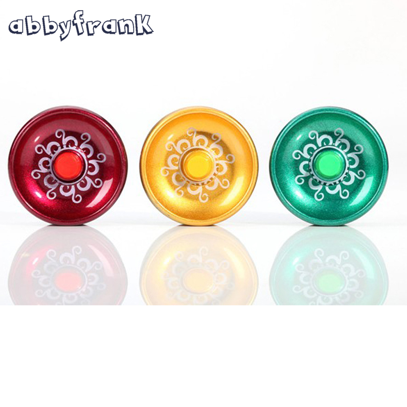 Abbyfrank Alloy Professional Yoyo Yo Yo Ball Orbis Diabolo Alloy Kids ToysYo-yo Auldey Magic Yoyo Toys For Children Boys Gifts