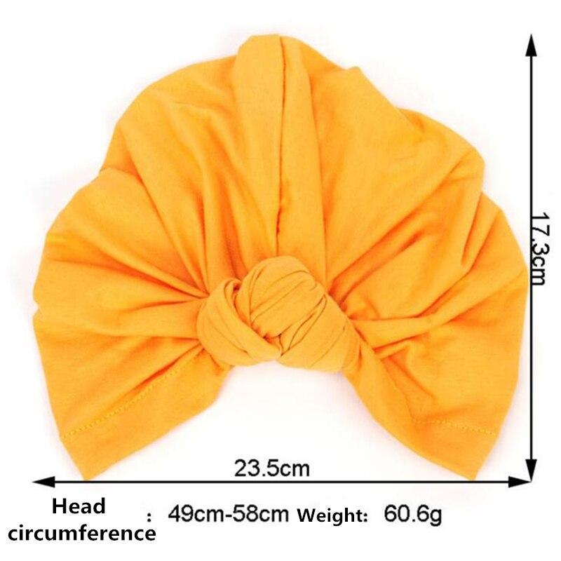 Image 3 - Women Bohemian Style Warm Winter Autumn Knot Turban Hat Stretchy  Cloche Cap Fashion Boho Soft Cross Hair Accessories Muslim hatWomens  Hair Accessories