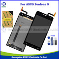 "Original Cell Phone LCD Display Touch Screen Digitizer Assembly For Asus Zenfone 5 A500CG A501CG T00J T00F 5.0"" LCD + Tools"