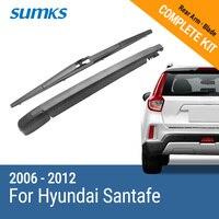 New Rear Window Windshield Wiper Arm And Blade For Hyundai Santafe 2006 2012 14 R14A680