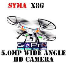 Free shipping Quadcopter Syma X8G 50CM Big Drone RC Helicopter with 5MP Wide Angle Camera RTF Vs MJX X101 Walkera QR x350 V686