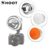 Disparar Lambancy cúpula difusor de Flash para Canon 430EX 580EX 600EX Nikon SB600 SB700 Sony A6000 X3000 Flash de la cámara DSLR Accesorios