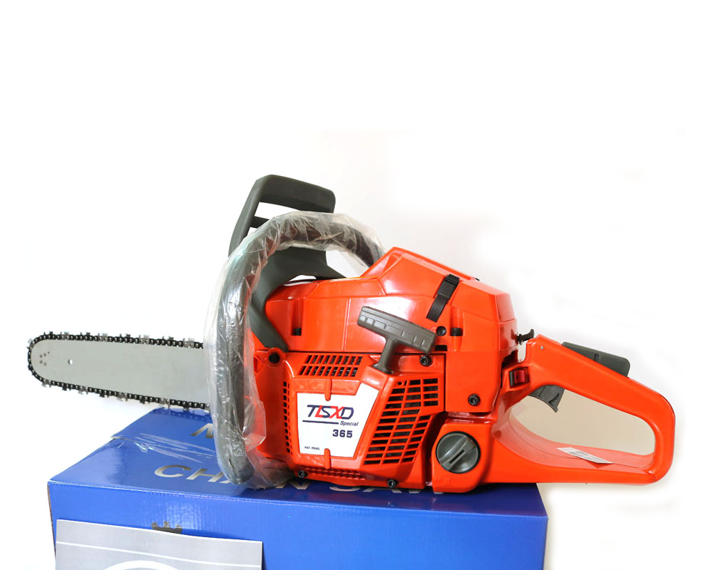 Professional Chainsaw HUS365 CHAINSAW 65CC CHAINSAW Heavy Duty Petrol Chainsaw with 20inchBlade Factory selling directly