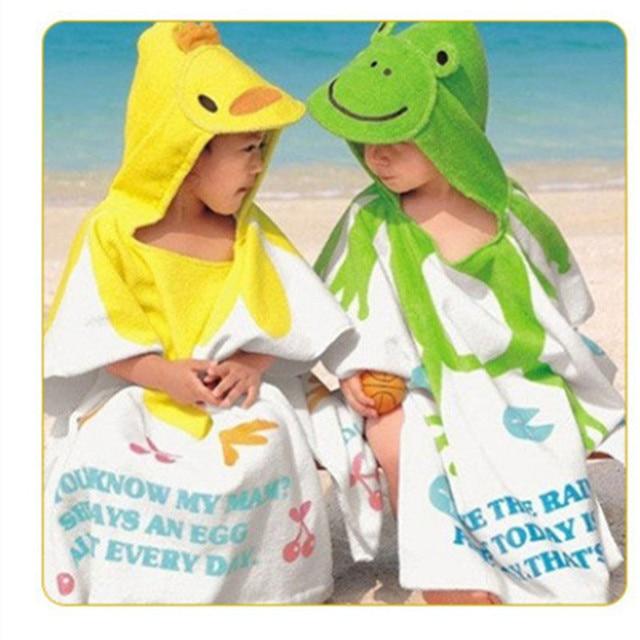 baby sleeping bag  [10 models cartoon bath towel] thicker section children's cartoon baby bath towel bathrobe  baby blanket