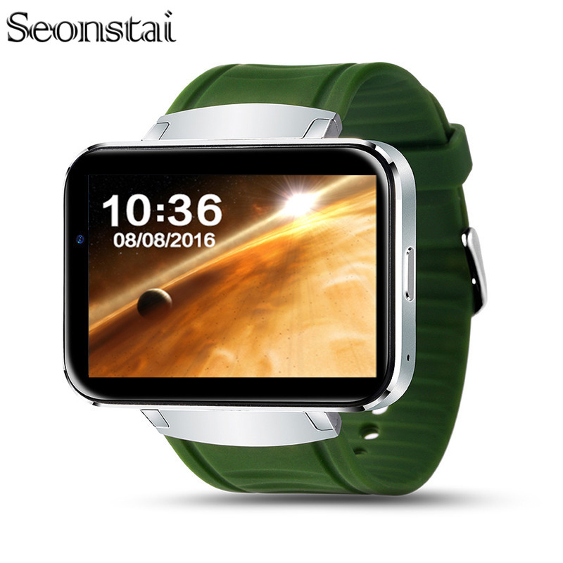 Seonstai DM98 Smart Watch 2.2 inch Android OS 3G Smartwatch Phone MTK6572 Dual Core 1.2GHz 512MB RAM 4GB ROM Camera WCDMA GPS 2 2 inch ips dm98 bluetooth smart watch android phone smartwatch relogios watch 3g wcdma 4gb android camera playstore gps wifi