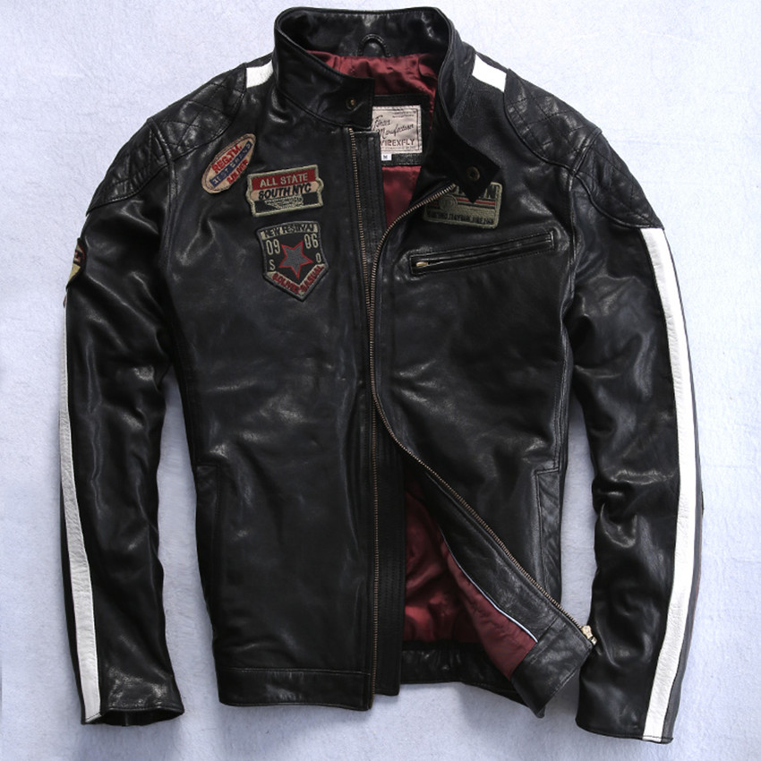 Compare Prices on Avirex Leather Jackets- Online Shopping/Buy Low ...