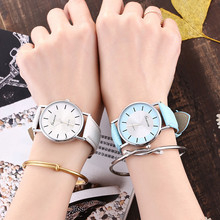 Zegarki damskei New Fashion Casual Women Watch Luxury Brand Leather Ladies Watch Sport Quartz Watches Relogio Feminino Clock dom women watches dom brand luxury new casual waterproof leather dress quartz watch mesh strap clock relogio faminino g 36gk 1ms