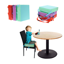 Children Increased Chair Baby Dining Adjustable Soft Cushion Removable  Highchair Booster Seat