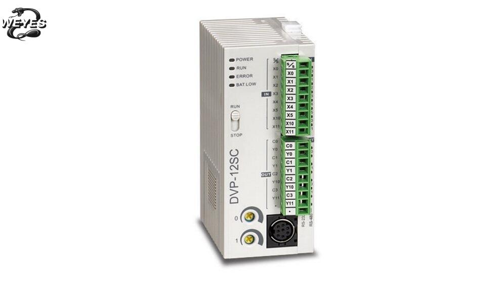 DVP12SC11T  DVP-12SC11T For PLC Programmable Logic Controller 12 Host 8 4 Transistor