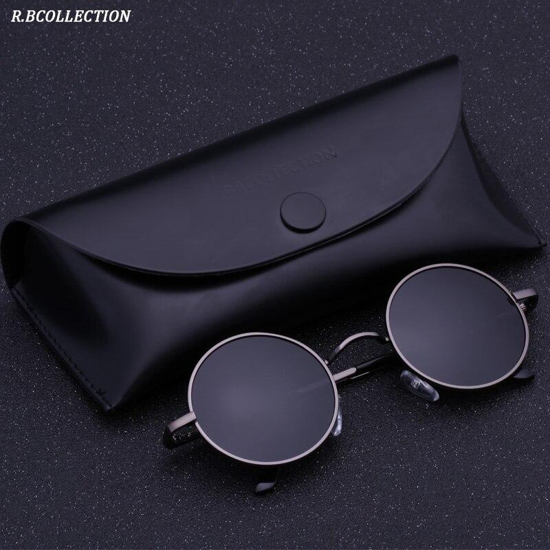 885e28779 Black Metal Óculos Polarizados Gothic Steampunk óculos de Sol Das Mulheres  Dos Homens de Moda Retro