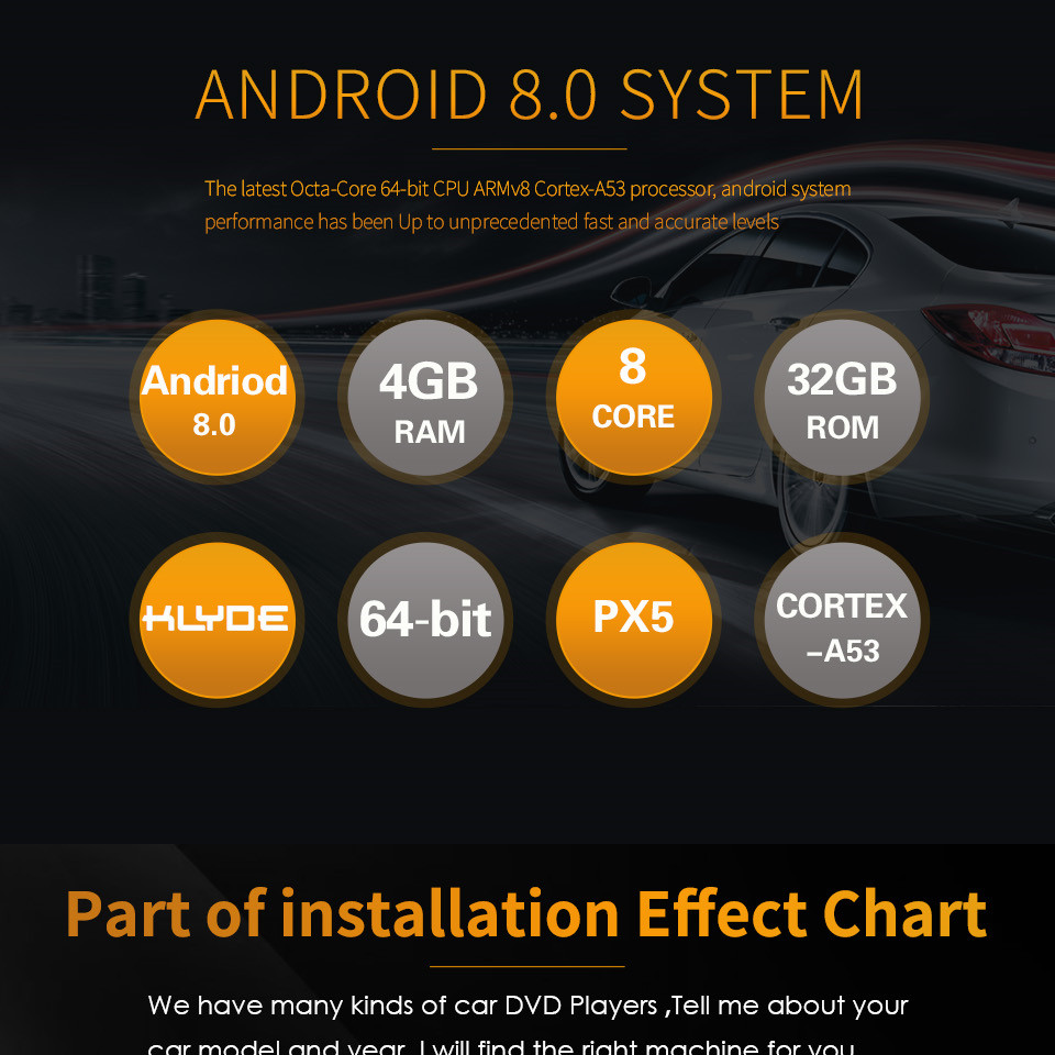 "Best 7"" Octa Core 4G WIFI Android 8.1 4GB RAM 64GB ROM RDS Car DVD Multimedia Player Stereo Radio For BMW E90 E91 E92 E93 2005-2012 6"