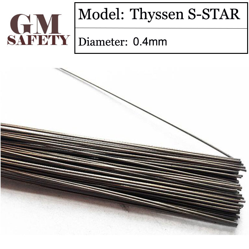 Gm Welding Wire Solder Thyssen S-star Of 0.4mm Welding Wire For Welders Made In Germany 200pcs In 1 Tube Xltzsy39 Easy And Simple To Handle Tools Welding & Soldering Supplies