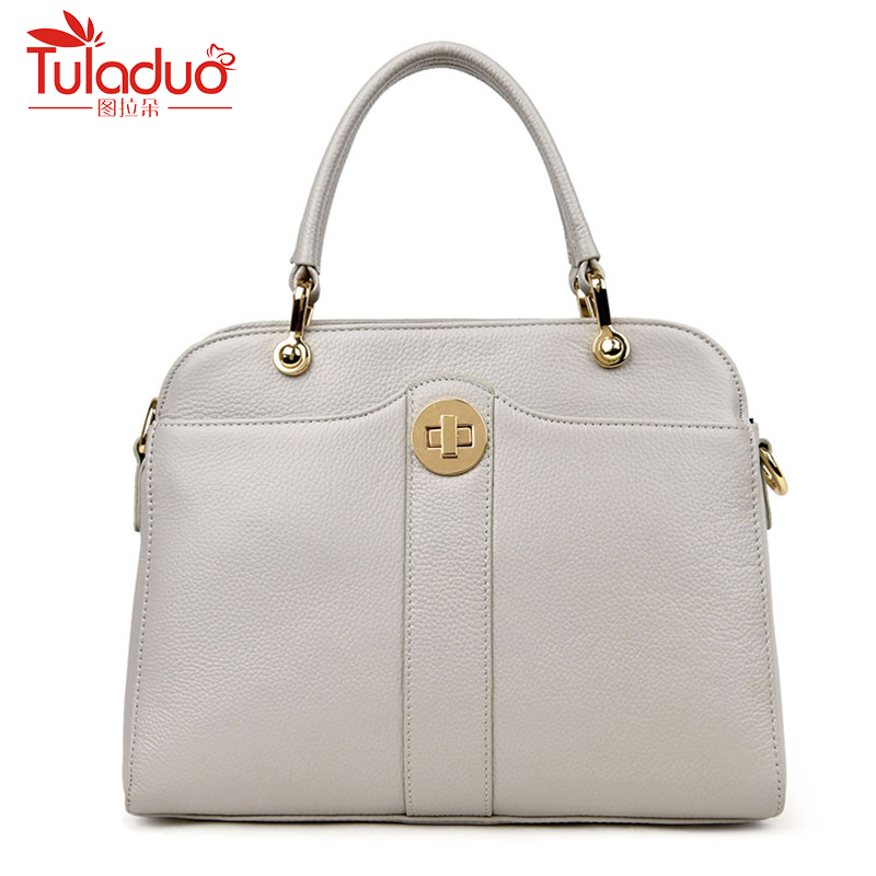 цена на Famous Brand Women Shoulder Bags High Quality Female Bag Large Capacity Genuine Leather Women Handbags Designer Ladies Bags