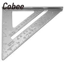 7 дюймов Cobee сплав квадратный транспортир обрамление плотник измерительный инструмент профессиональный измерительный материал escolar школьные принадлежности