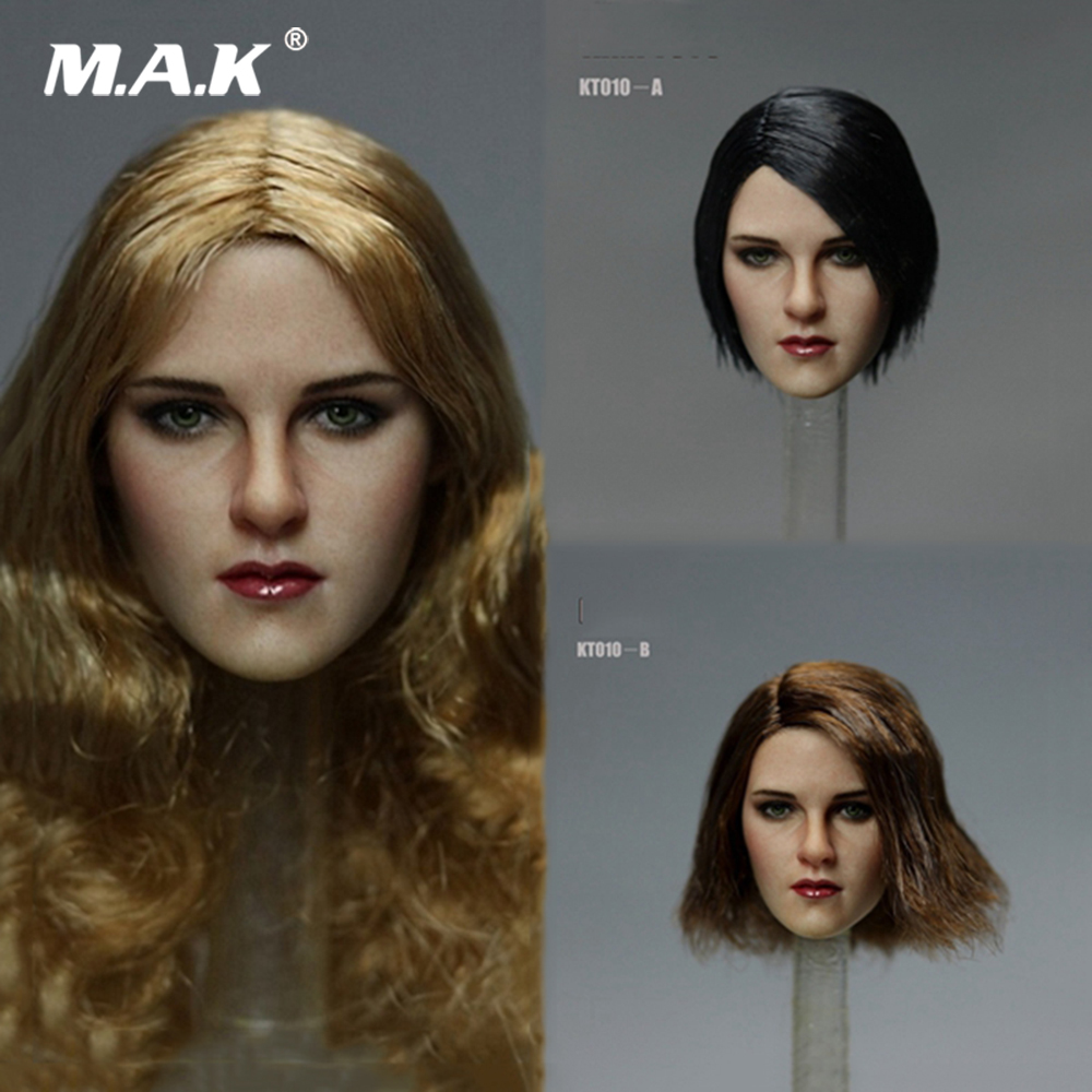 1/6 Scale Female Head Sulpt European Beauty Girl Head Sclupt with Long/Short Hair KT010-A/B/C for 12 inches Woman Action Figure 1/6 Scale Female Head Sulpt European Beauty Girl Head Sclupt with Long/Short Hair KT010-A/B/C for 12 inches Woman Action Figure