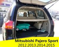 Car Rear Trunk Security Shield Cargo Cover For Mitsubishi Pajero Sport 2012.2013.2014.2015 High Qualit Auto Accessories