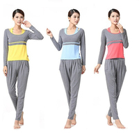 Free Shipping Women's Yoga Suit Exercise Clothing Sports Uniform Lady Gym Workout Fitness