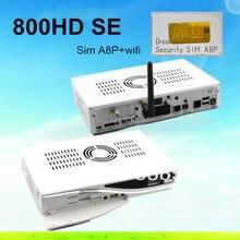 2 unids Hight Quality venta Caliente receptor de satélite dm800hd se dm800 se hd dm800se a8p sim con 300 Mbps WIFI envío gratis